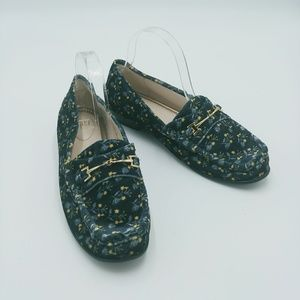 CABI | carnaby floral velvet loafers fall 2017 new